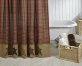 """VHC Brands 17998 Stratton Shower Curtain, 72"""" x 72"""""""