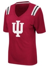 Colosseum Women's Indiana Hoosiers Rock Paper Scissors T-Shirt