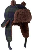 Gap Plaid bear trapper hat