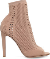 Gianvito Rossi Vires perforated ankle boots