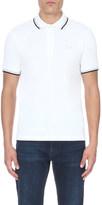 HUGO BOSS Paddy contrast-trim polo shirt