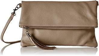 Braun Bags4Less Luna, Women's Clutch, Taupe), (B x H T)