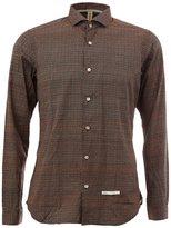 Dnl - classic collar longsleeved shirt - men - Polyamide/Cotton - 41