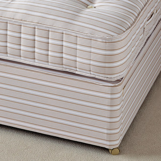 OKA Super King Divan Bed Base without Drawers - Natural