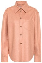 Acne Studios Flannel button-down shirt
