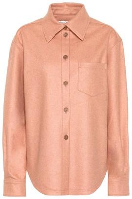 Acne Studios Flannel button-down shirt