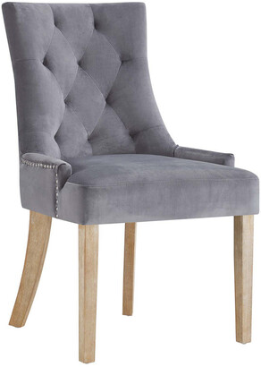 Modway Pose Velvet Dining Chair