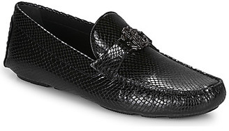 Roberto Cavalli 1038A men's Loafers / Casual Shoes in Black