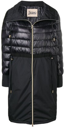 Herno Quilted Panel Coat