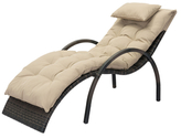 ZUO Eggertz Beach Chaise Lounge