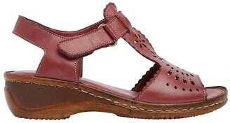 Wide Steps Dario Cherry Glove Sandal