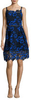 T Tahari Lace Fit and Flare Dress
