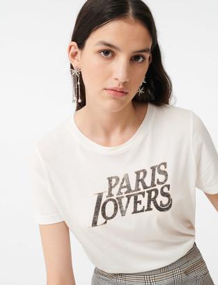 Maje Silkscreen printed T-shirt
