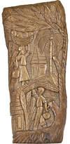 One Kings Lane Vintage Hand-Carved Primitive Tribal Panel