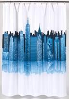Carnation Home Fashions Fabric Shower Curtain