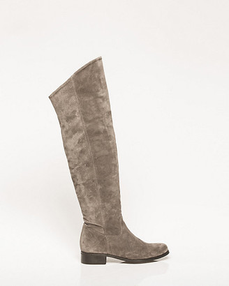 Le Château Italian-Made Suede Over-The-Knee Boot