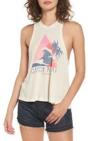 Billabong Women's Catch A Wave Graphic Tank
