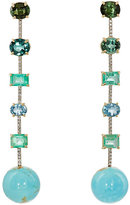 Irene Neuwirth Women's Mixed-Gemstone Drop Earrings