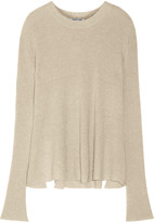 Helmut Lang Cashmere and linen-blend sweater