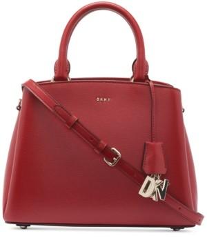 DKNY Paige Leather Medium Satchel, Created for Macy's