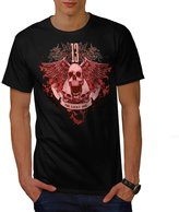 13 The Lucky One Skull Men XXXL T-shirt | Wellcoda