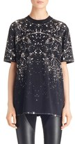 Givenchy Constellation Print Stretch Jersey Tee