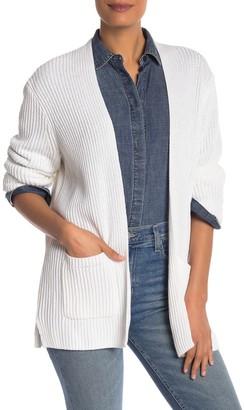 Madewell Nolan Ribbed Open Front Cardigan (Regular & Plus Size)