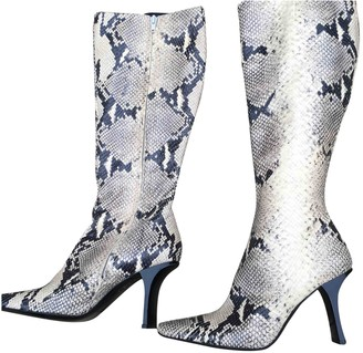Clergerie Beige Water snake Boots