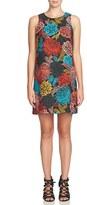 CeCe Women's 'Arlington' Floral Shift Dress