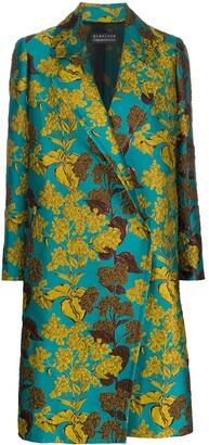 Gianluca Capannolo Floral-Jacquard Coat