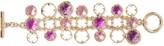 Oscar de la Renta Gold-plated crystal bracelet