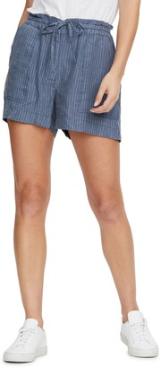 Michael Stars Paulette Paperbag Waist Shorts
