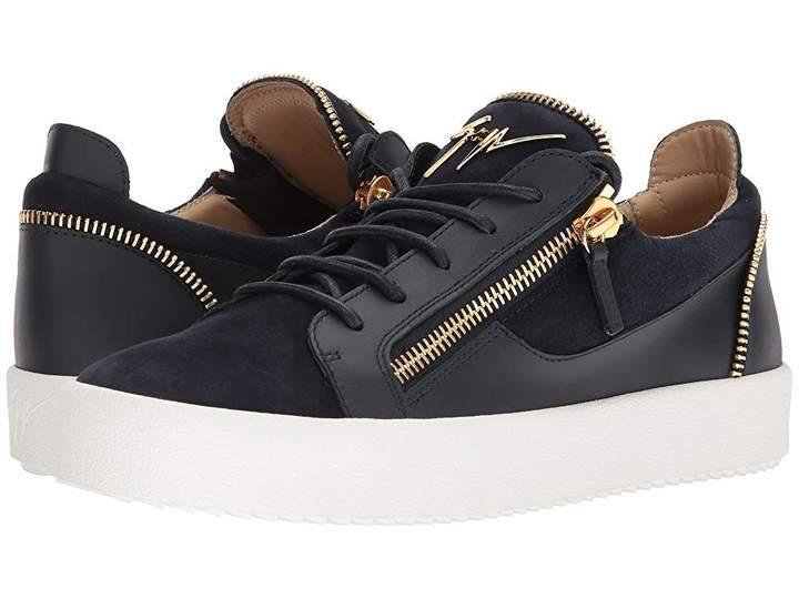 Giuseppe Zanotti May London Zipper Low Top Sneaker