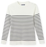 Petit Bateau Mens striped cotton sailor sweater