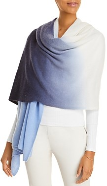 C by Bloomingdale's Printed Cashmere Travel Wrap - 100% Exclusive