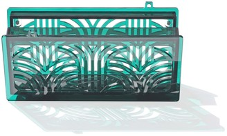 Vitro Atelier Jupiter Clutch In Emerald Green