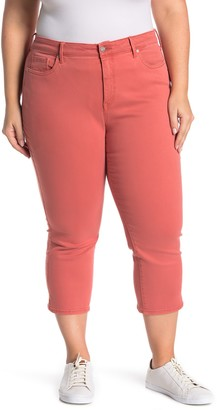 NYDJ Slit Side Seam Capri Jeans (Plus Size)