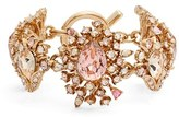 Oscar de la Renta Women's Swarovski Crystal Line Bracelet