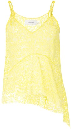 Marques Almeida Lace Slip Top