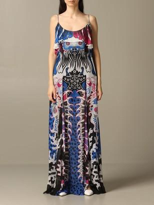 Just Cavalli Long Printed Dress