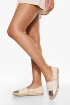 Thumbnail for your product : boohoo Chunky Toe Cap Espadrille