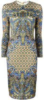 Givenchy paisley print dress - women - Silk/Spandex/Elastane/Acetate/Viscose - 40