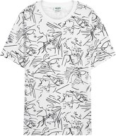 Kenzo Sketches Printed Cotton T-shirt