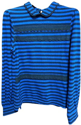 Luella Blue Cotton Knitwear for Women