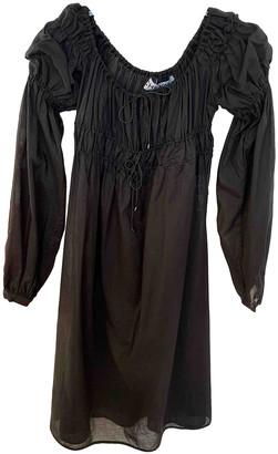 ÀCHEVAL PAMPA Black Cotton Dresses