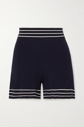 ODYSSEE Liberte Stretch-knit Shorts - Navy