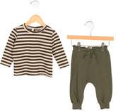 Babe & Tess Boys' Striped Rib Knit Two-Piece Set w/ Tags