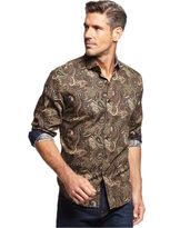 Tasso Elba Calbone Paisley Shirt