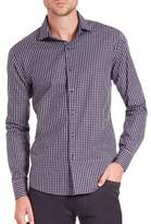 Vince Camuto Slim-Fit Checked Shirt