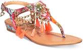Thalia Sodi Zella Demi-Wedge Flat Sandals, Only at Macy's